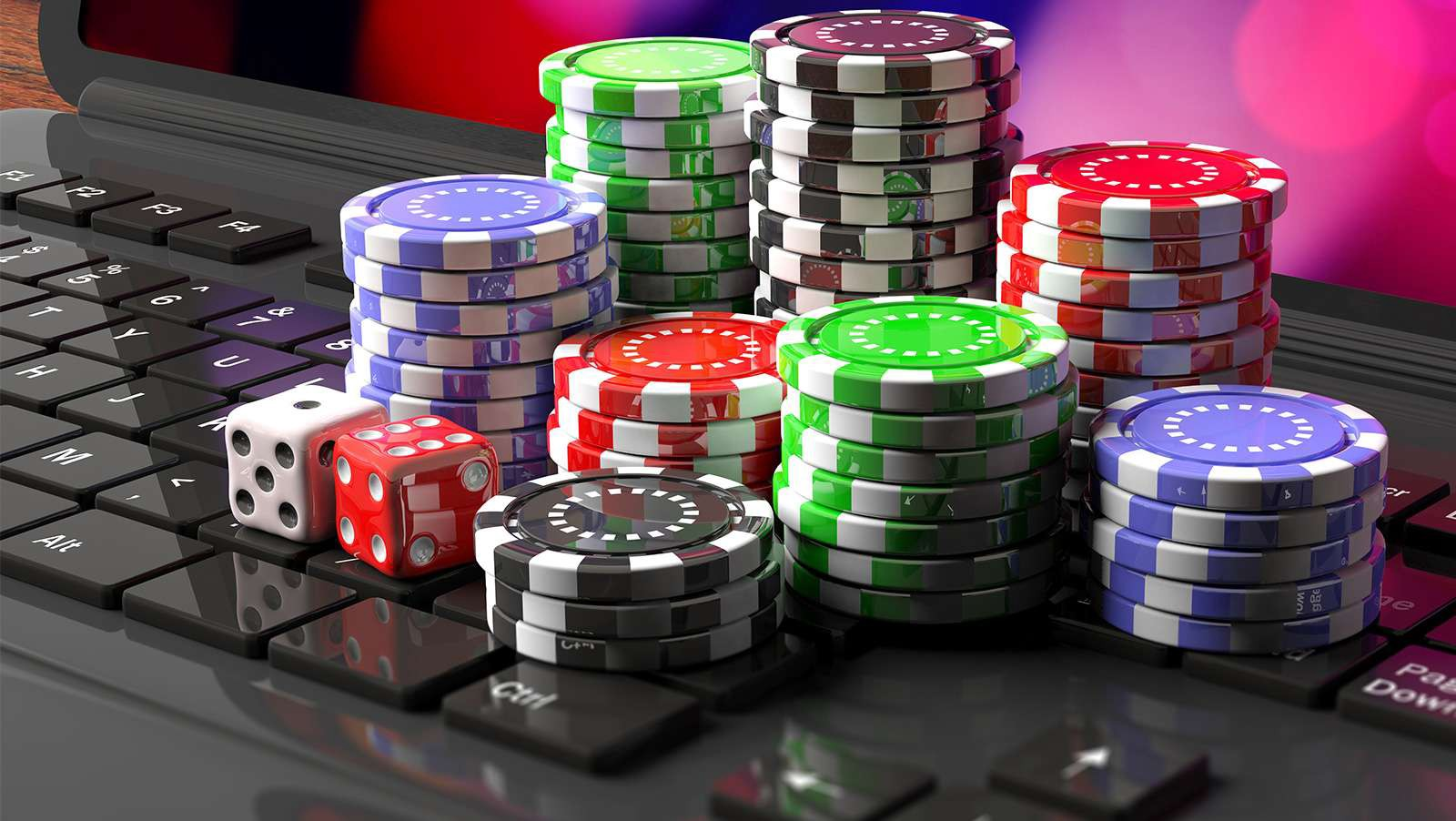 Virtual online casino games